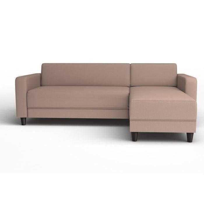finlandek canap kulma angle r v 4p tissu taupe achat vente canap sofa divan tissu 70. Black Bedroom Furniture Sets. Home Design Ideas