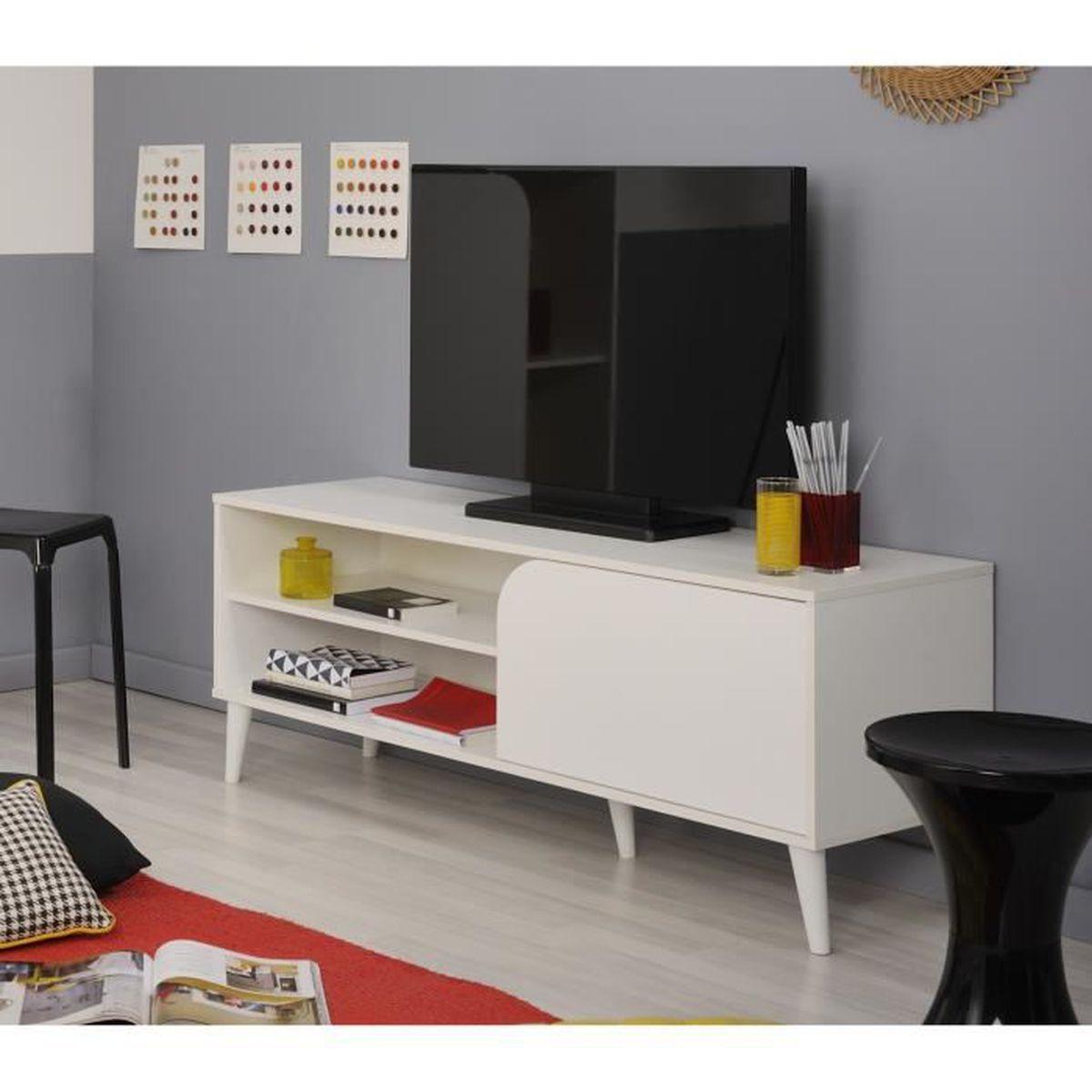 meuble tv vintage achat vente meuble tv vintage pas. Black Bedroom Furniture Sets. Home Design Ideas