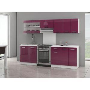 meubles de cuisine complete achat vente meubles de cuisine complete pas cher cdiscount. Black Bedroom Furniture Sets. Home Design Ideas