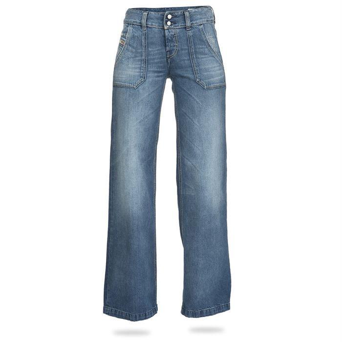 diesel jean large femme achat vente jeans diesel jean large femme soldes cdiscount. Black Bedroom Furniture Sets. Home Design Ideas