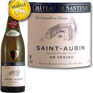 VIN BLANC Saint Aubin Château de Santenay 2008