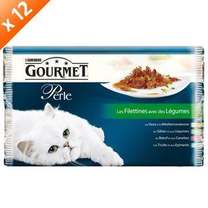 BOITES - PATÉES GOURMET PERLE Les Filletines avec des légumes Mult