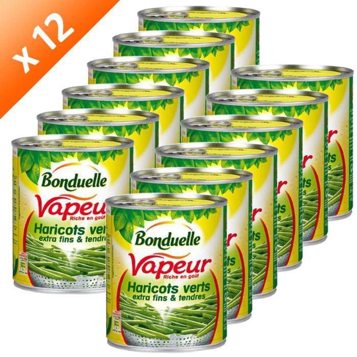 Bonduelle vapeur haricots verts extra fins 12x220g achat - Quels sont les meilleures varietes d haricot vert ...