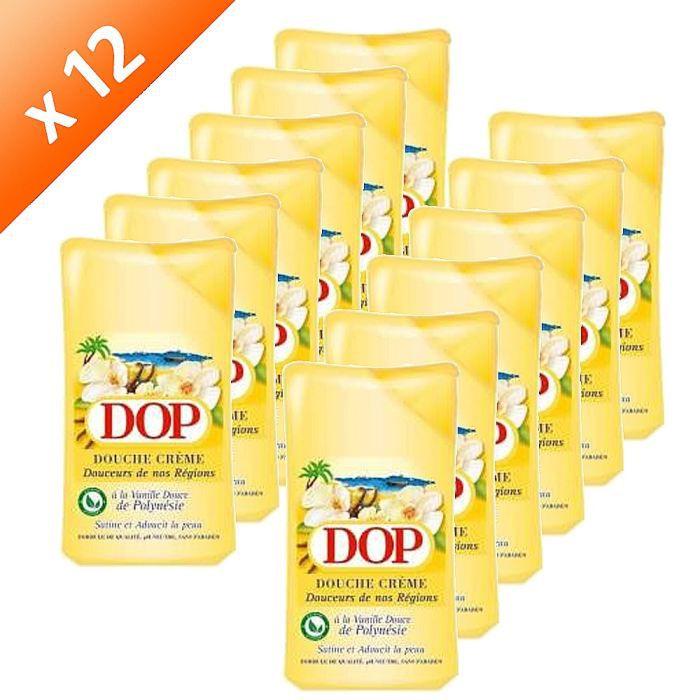 GEL - CRÈME DOUCHE DOP Douche Vanille 250ml (x12)