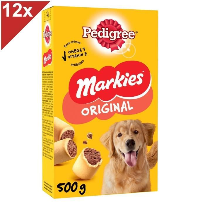 pedigree markies pour chien 500g 12 achat vente friandise pcb12 pedigree markies 500g. Black Bedroom Furniture Sets. Home Design Ideas