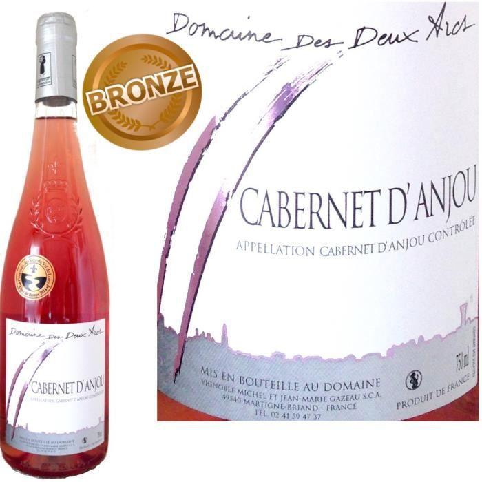 VIN ROSE Domaine des Deux Arcs 2013 Cabernet d'Anjou