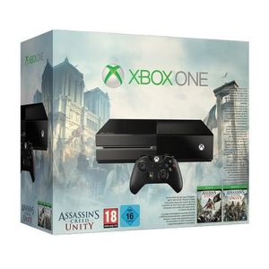 CONSOLE XBOX ONE Console XBOX One + Jeu Assassin's Creed Unity