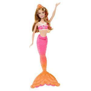 Barbie sirene achat vente jeux et jouets pas chers - Jeux de princesse barbie sirene ...