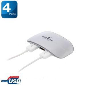Hub USB Firewire BLUESTORK BSUSB4M GRIS 4PORTS