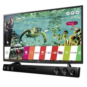"""Téléviseur LED Pack LG 49UH600V - TV UHD 4K - 123cm (49"""") - Smart"""