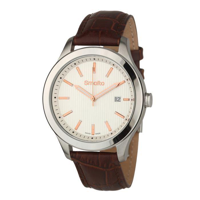 3e27bc23e3 montre homme smalto,smalto montre timeless bracelet cuir homme