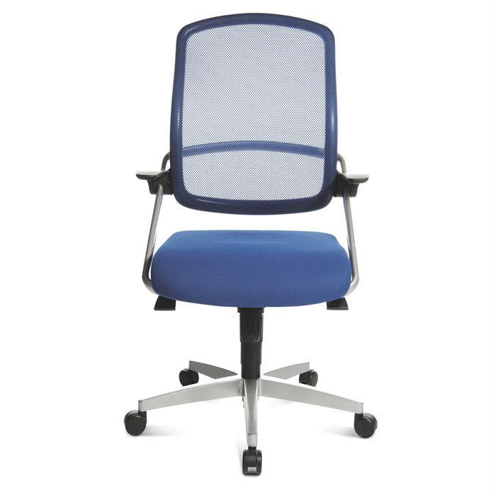 Chaise de bureau express 06 14 bleu achat vente chaise - Chaise de bureau bleu ...