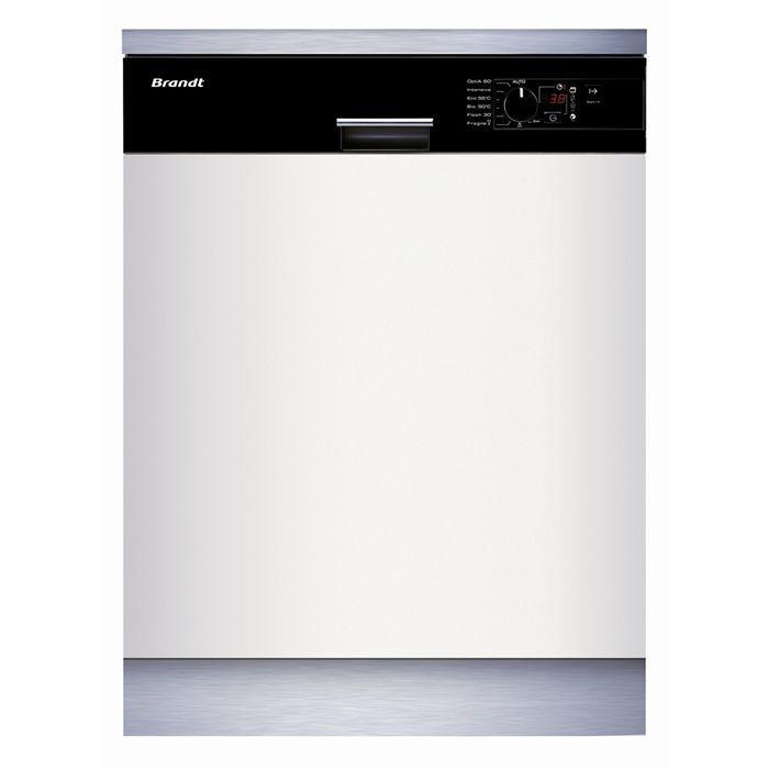 brandt lave vaisselle encastrable vh915be1 achat vente lave vaisselle cdiscount
