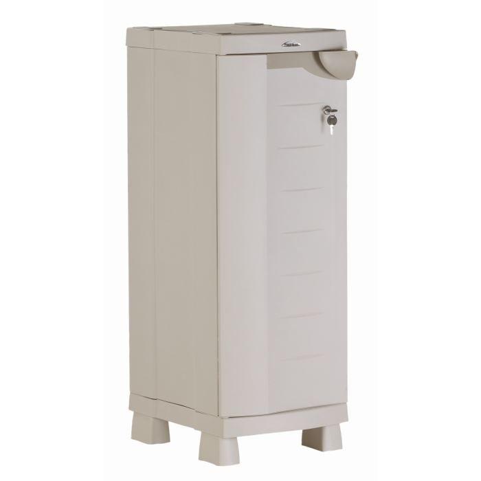 plastiken armoire de rangement basse en r 233 sine achat vente etabli meuble atelier