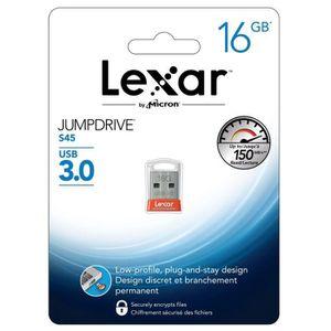 CLÉ USB Lexar Clé USB 3.0 JumpDrive S45 16 Go