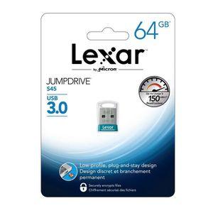 CLÉ USB Lexar Clé USB 3.0 JumpDrive S45 64 Go