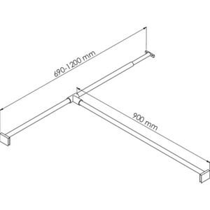 parois de douche portes achat vente parois de douche. Black Bedroom Furniture Sets. Home Design Ideas