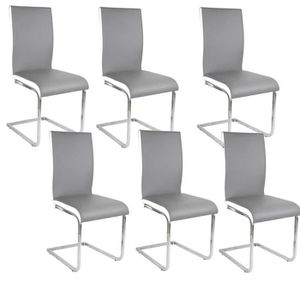 Chaises achat vente chaises pas cher soldes cdiscount for 6 chaises blanches