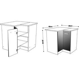 meuble d angle achat vente meuble d angle pas cher les soldes sur cdiscount cdiscount. Black Bedroom Furniture Sets. Home Design Ideas
