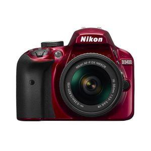 APPAREIL PHOTO RÉFLEX NIKON D3400 - Reflex numérique - Grand capteur DX