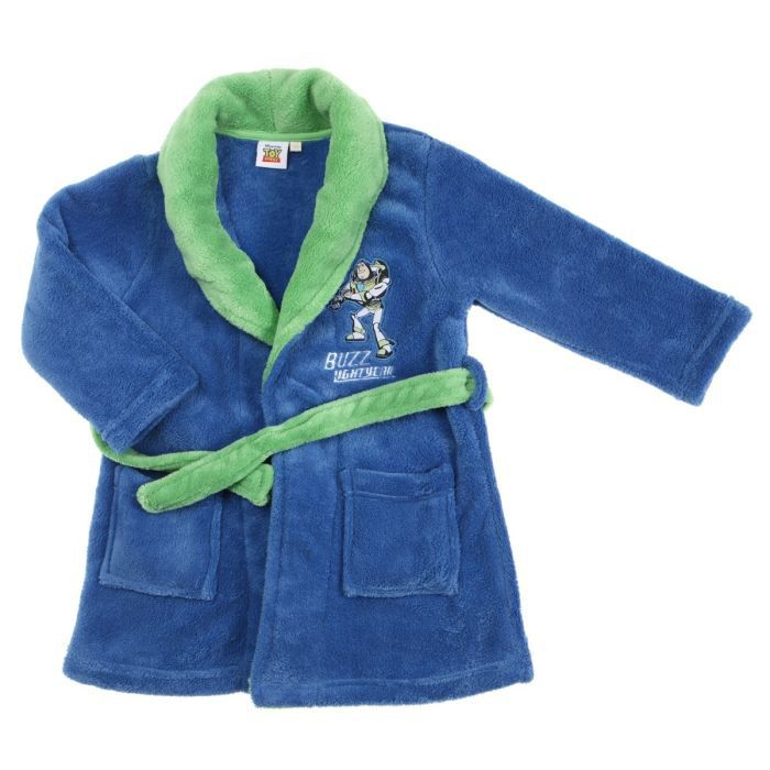 toy story robe de chambre gar on bleu et vert achat. Black Bedroom Furniture Sets. Home Design Ideas