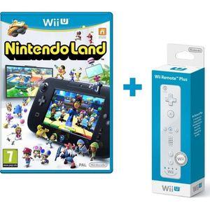 JEUX WII U Nintendo Land + Télécommande Wii U Plus Blanche