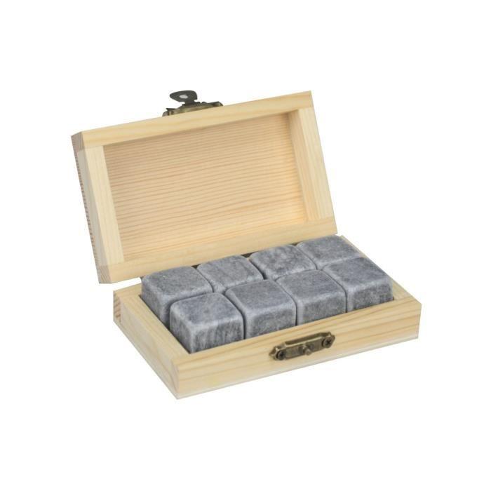 Ard 39 time coffret de 8 pierres whisky achat vente - Coffret cuisine creative ...