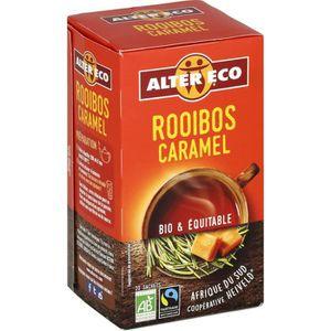 CAFÉ - CHICORÉE ALTER ECO Rooibos Caramel Bio 40g