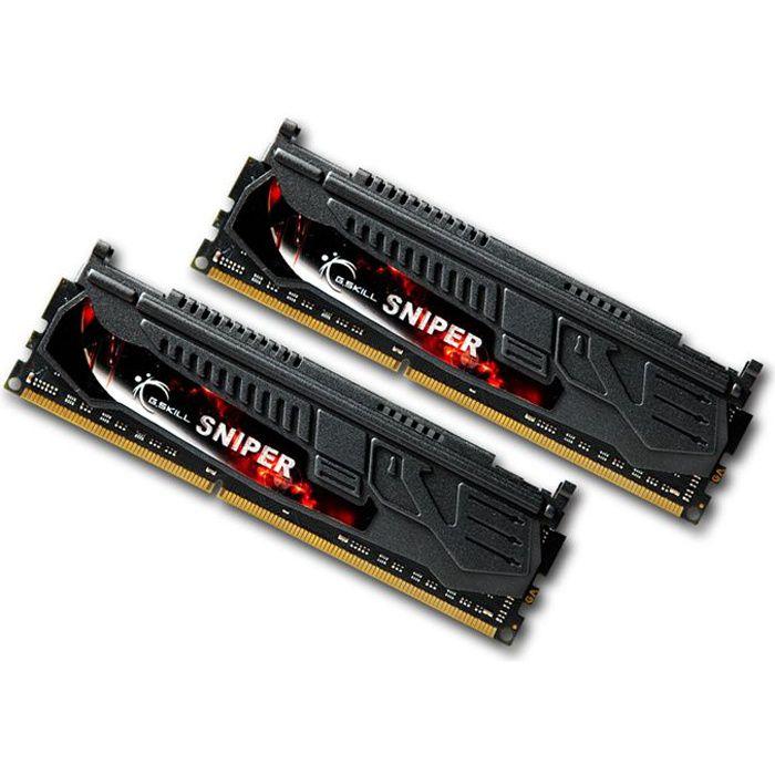 MÉMOIRE RAM G.Skill Sniper 8Go DDR3 1600MHz C9