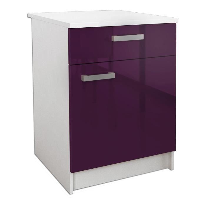 elément séparé cuisine violet - achat / vente elément séparé ... - Meuble Cuisine Violet