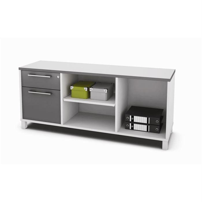 OFIS Retour bureau 1 porte 1 tiroir semipro - Achat / Vente bureau ...