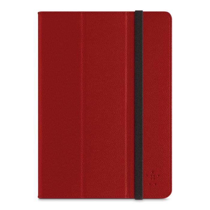 etui trifold rouge avec stand pour ipad air prix pas cher cdiscount. Black Bedroom Furniture Sets. Home Design Ideas