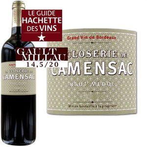 VIN ROUGE La Closerie de Camensac Haut-Médoc 2008 - Vin R...