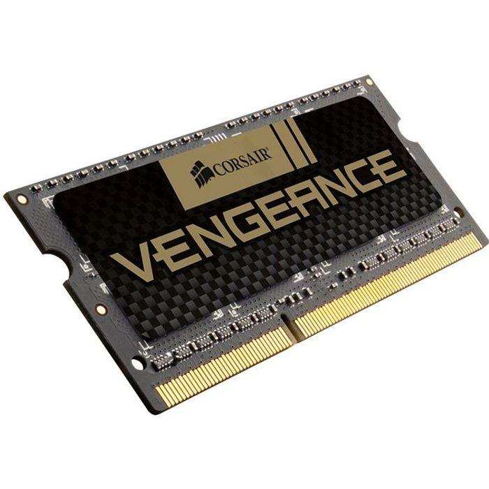MÉMOIRE RAM Corsair 8Go DDR3 1600MHz C10 Vengeance SO-DIMM