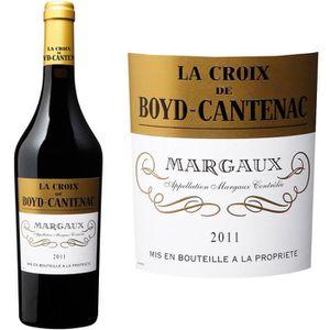 VIN ROUGE La Croix de Boyd Cantenac Margaux Second Vin 2011