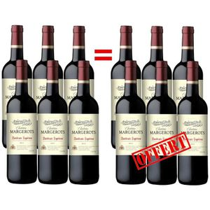 VIN ROUGE Château Margerots Bordeaux Supérieur 2012 - Vin...