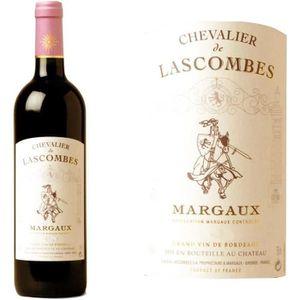 VIN ROUGE Chevalier de Lascombes Margaux Second Vin de Marga