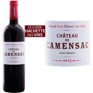 VIN ROUGE Château Camensac Haut-Médoc Cru Classé Grand Vin d