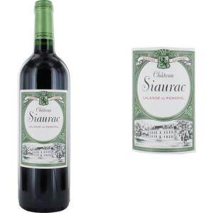 VIN ROUGE Château Siaurac Grand Vin de Bordeaux 2014 - Vin r
