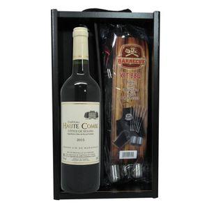 COFFRET CADEAU VIN Coffret Vin Barbecue vin et accessoires