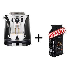 MACHINE À CAFÉ SAECO ODEA GO RI9752/0 + L'Or en grain 1kg offert