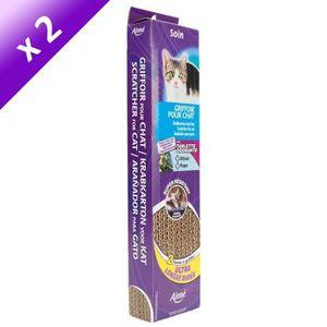 griffoir carton a chat achat vente griffoir carton a chat pas cher soldes d hiver d s le. Black Bedroom Furniture Sets. Home Design Ideas