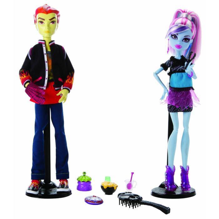 Monster high duo abbey et heath de mattel - Monster high king jouet ...