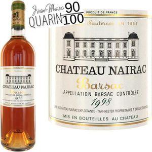 VIN BLANC Château Nairac 1998