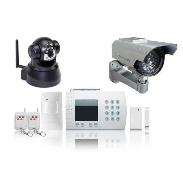 Jod1 kit alarme maison easybox 2 cam ras achat vente Alarme camera maison