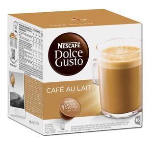 CAFÉ - CHICORÉE DOLCE GUSTO Café au Lait 16 Capsules 160g