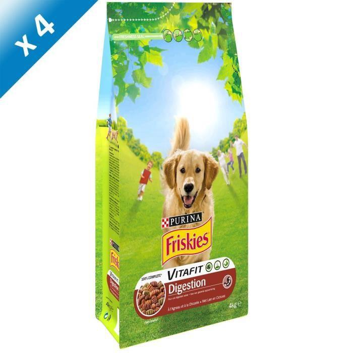 friskies croquettes digestion chien 4kg x4 achat vente croquette pcb4 f. Black Bedroom Furniture Sets. Home Design Ideas