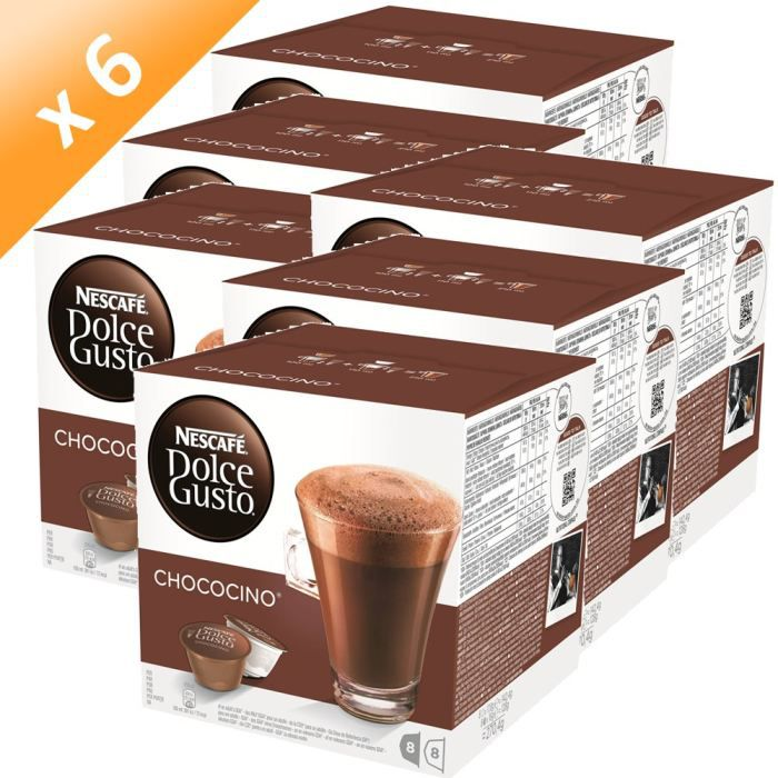 CACAO - CHOCOLAT DOLCE GUSTO Chococino 16 Capsules 270g (x6)