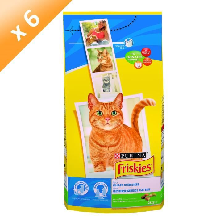 friskies croquettes pour chat st rilis 2kg x6 achat vente croquette friskies croquettes. Black Bedroom Furniture Sets. Home Design Ideas