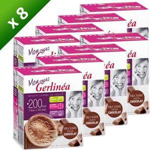 SUBSTITUT DE REPAS GERLINEA Milk Shake Chocolat 9x30g  (x8)